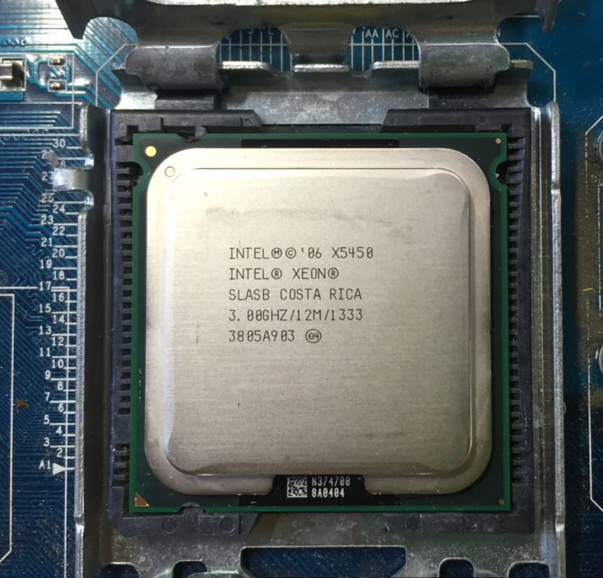 I ntel socket 775 Xeon X5450 x5450 No need adapter Quad Core 3 0GHz 12MB 1333MHz I ntel socket 775 Xeon X5450 x5450 No need adapter Quad-Core 3.0GHz 12MB 1333MHz works on LGA 775 mainboard