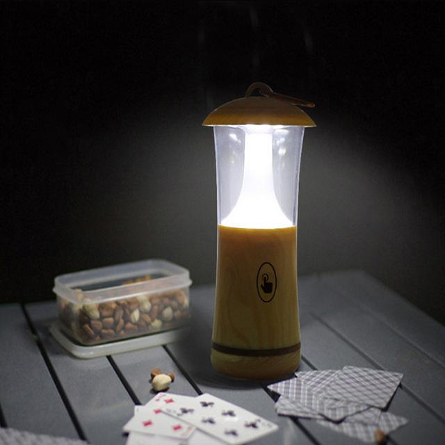 Mudança de cor levaram luz do quarto toque romântico quarto dos miúdos de madeira da lâmpada alimentado por bateria levou noite luz lâmpada de mesa de madeira do vintage