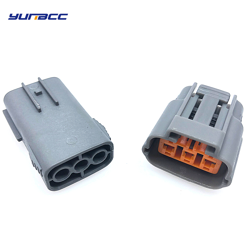 2 Sets 3 Pins Female And Male Sumitomo Waterproof Cable Connector 6195-0009 6195-0012 For Nissan Mazda RX8 Ignition Coil
