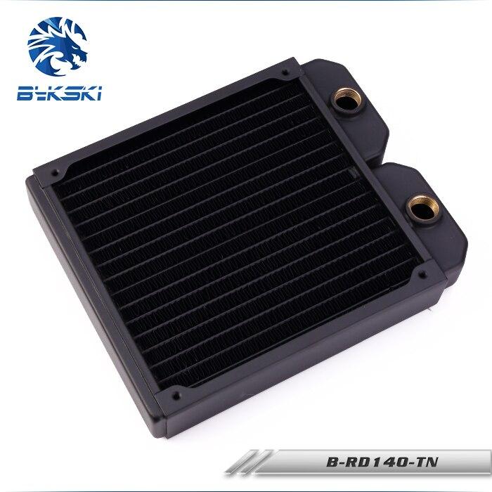 Bykski B-RD140-TN 14 cm 140mm cuivre radiateur refroidissement par eauBykski B-RD140-TN 14 cm 140mm cuivre radiateur refroidissement par eau