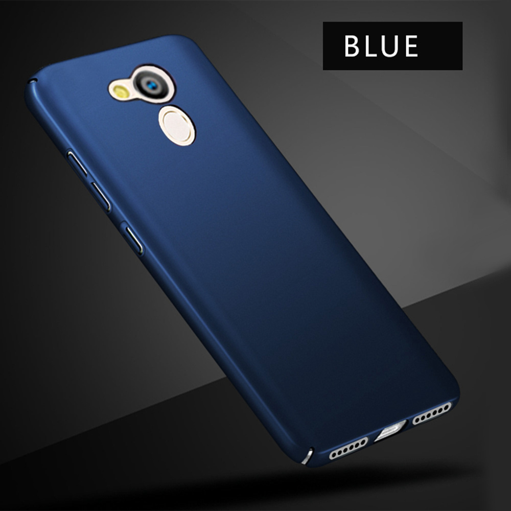 """Luxury Plain Phone Case For Huawei Honor 6C 5.0"""" Hard Plastic Frosted Cover Cases For Huawei Enjoy 6s Back Cover Honor 6C Bumper"""