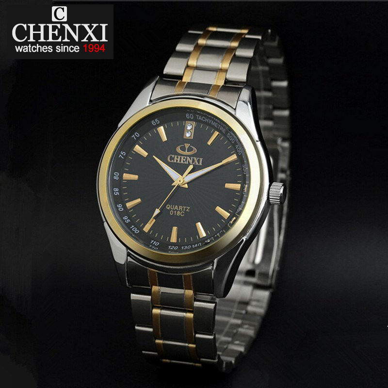 NATATE Luxury Brand CHENXI Watch Full Stainless Steel For Men Quartz dial Decorated Business Watches Relogio Rolojes 1040 natate new popular men fashion quartz watch leisure business luxury chenxi brand stainless sports wristwatch 1240