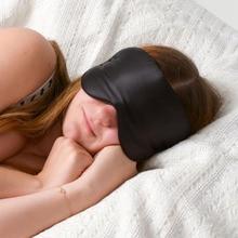 11 kleuren luxe zijde draagbare reizen slaap oogmasker Rest Aid Soft Cover ooglapje Hot koop slaapmasker slaapmasker geval MR078