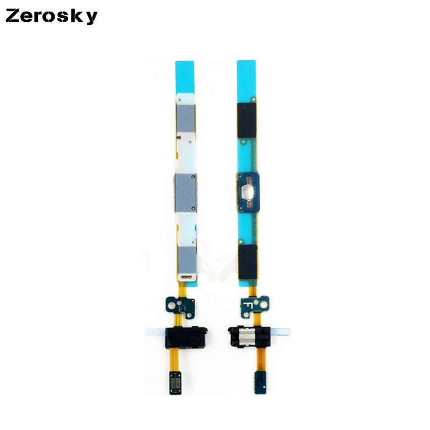 High Quality Home Button + Earphone Jack Flex Cable For Samsung Galaxy J5 2016 J5108 J510F Replacement Part