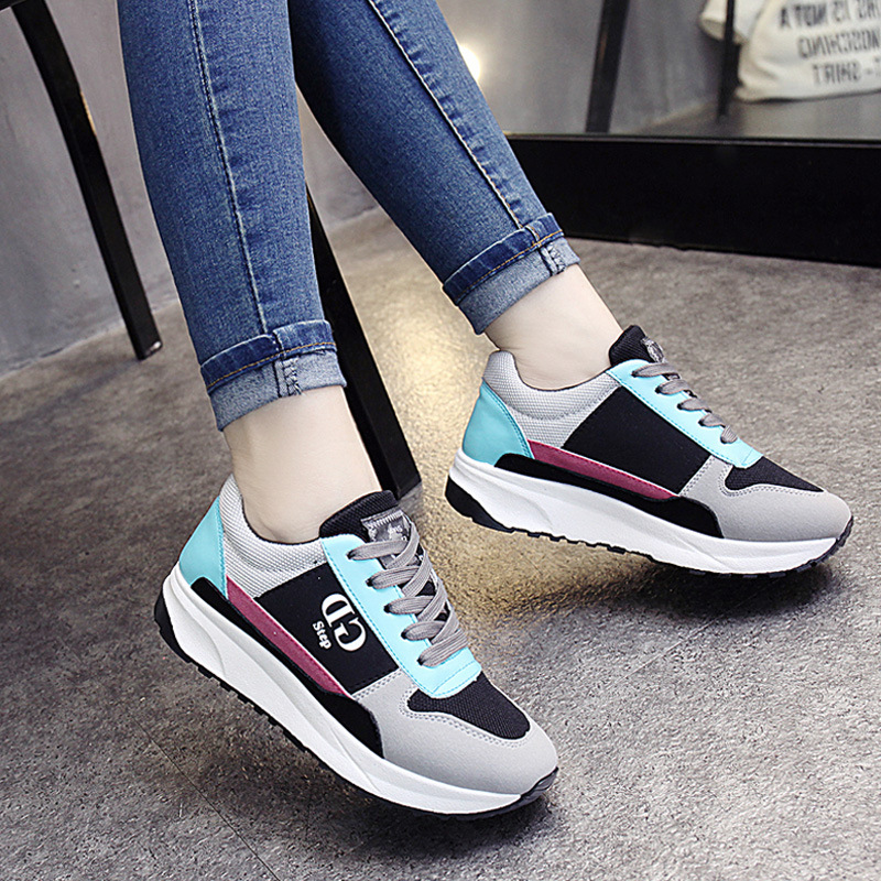 UNN Sport Shoes Woman 2017 Autumn Sneakers Women Gray Mesh Shoes Ladies Sneakers For Girls Canvas Walking Tennis Trainers