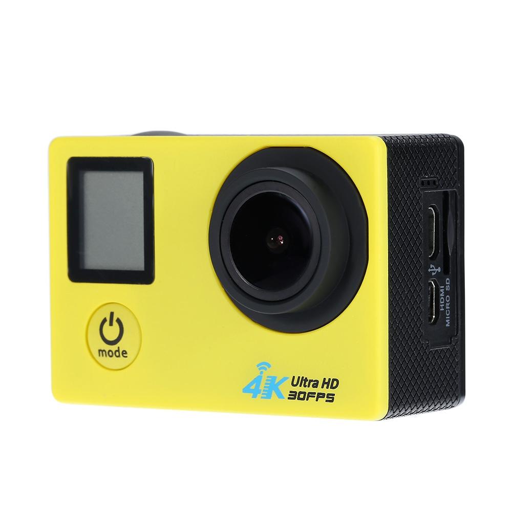 Prix pour Action Caméra 4 K 30FPS 16MP WiFi H.264 30 m Sous-Marine Sans Fil 1080 P Étanche 170 Objectif Grand D'action DV sport Caméra Caméscope
