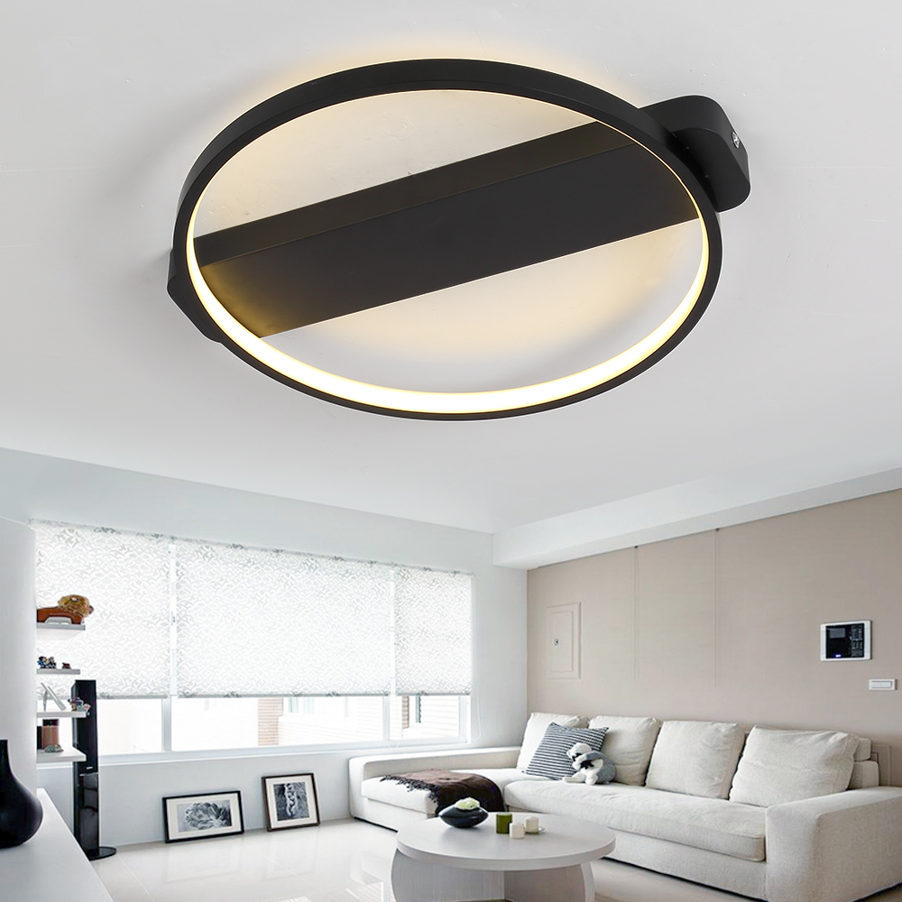 Led Modern Ceiling Light With Remote Control Bedroom Living Room Lamp Ceiling Lighting For Kitchen Bathroom Restaurant Fixtures