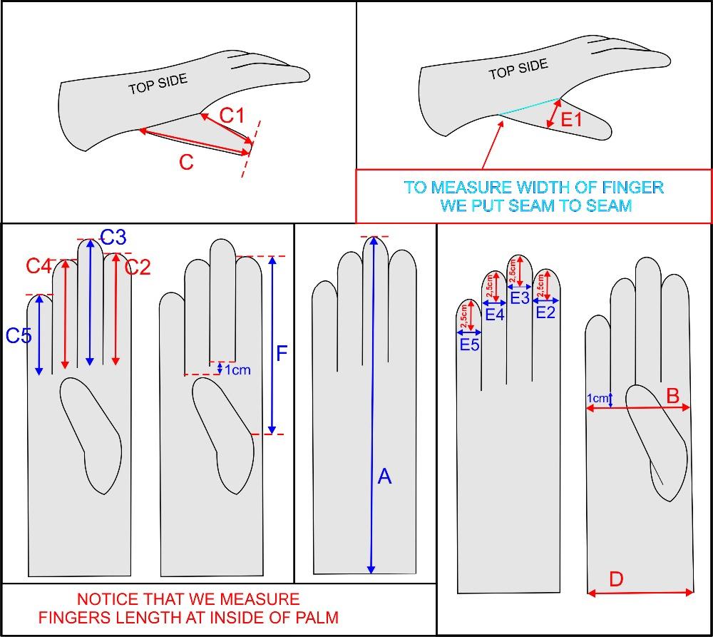 KURSHEUEL Men's Driving Gloves 8