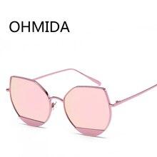 OHMIDA Marca gafas de Sol de Las Mujeres 2017 de Lujo de Época Espejo de Ojo de Gato Gafas de sol de Los Hombres Nuevos Estilos de La Moda Retro Gafas de sol Gafas