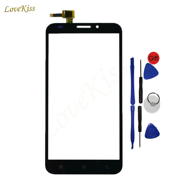A916 5.5in Touch Panel Screen Digitizer For Lenovo A916 Touchscreen Sensor Front Glass Replacement Outer Lens Tools Tracking No.