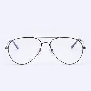 Image 5 - إطار نظارات طيران من Cubojue للرجال والنساء نظارات من التيتانيوم للرجال نظارات فائقة الخفة على الموضة أو وصفة طبية نظارات كلاسيكية