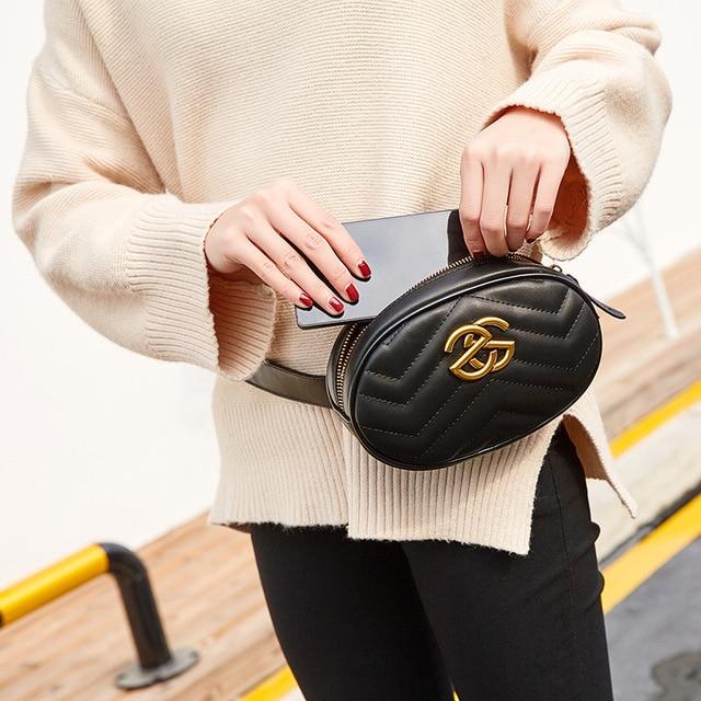 Luxury Handbags Women Bags Designer Waist Bag Fanny Packs Lady s Belt Bags  Women s Famous Brand Chest Handbag Shoulder Bag Purse e51bdab516c30