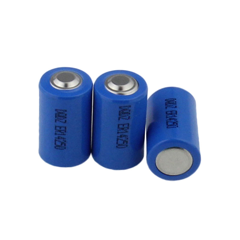 1pc 3.6V 1200mAh ER14250 1/2 AA <font><b>14250</b></font> Battery Non-<font><b>Rechargeable</b></font> LiSOCl2 Battery For GPS Saft LS14250 Camera Battery Replace Cells image