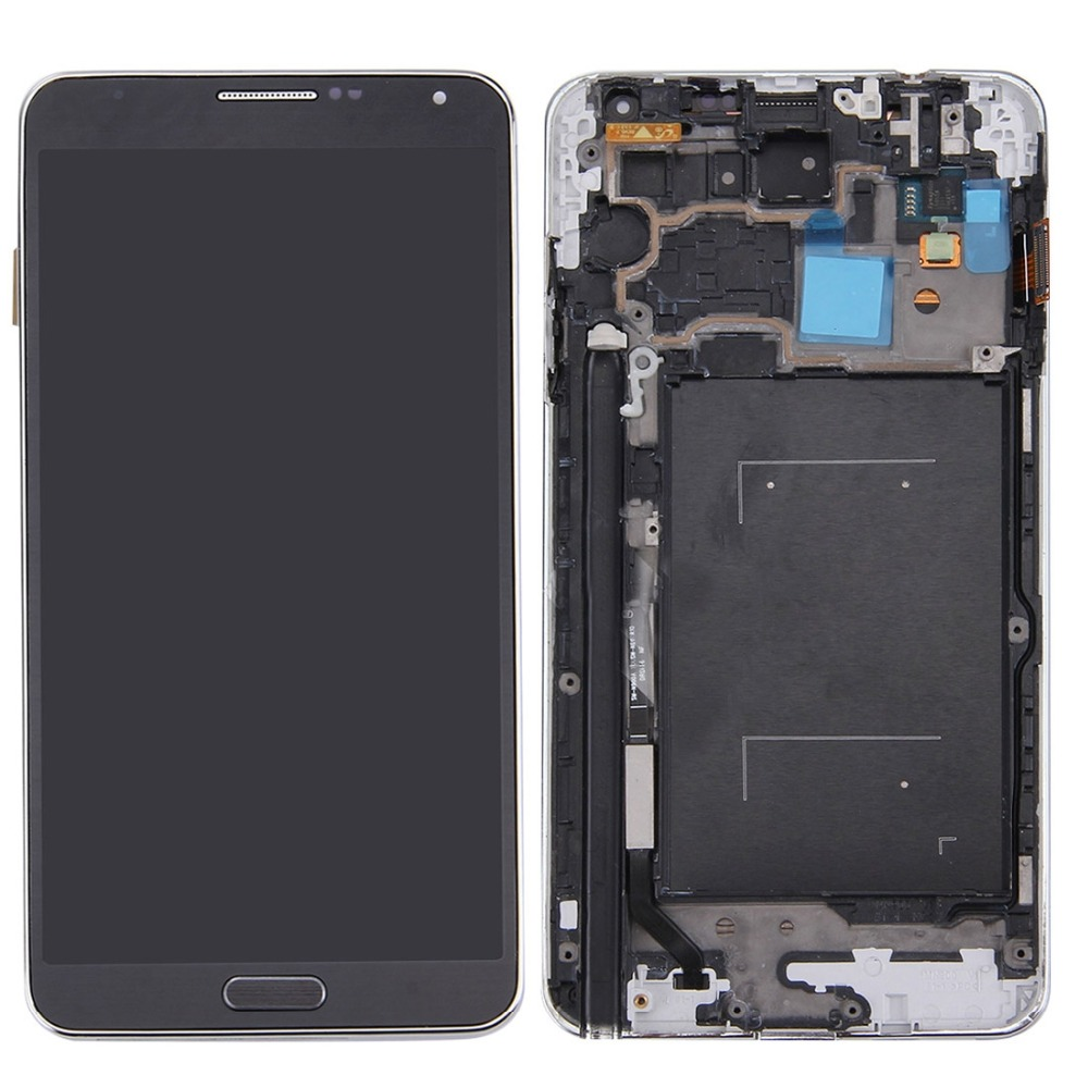 Original LCD Display + Touch Panel with Frame for Galaxy Note III / N900A / N900TOriginal LCD Display + Touch Panel with Frame for Galaxy Note III / N900A / N900T
