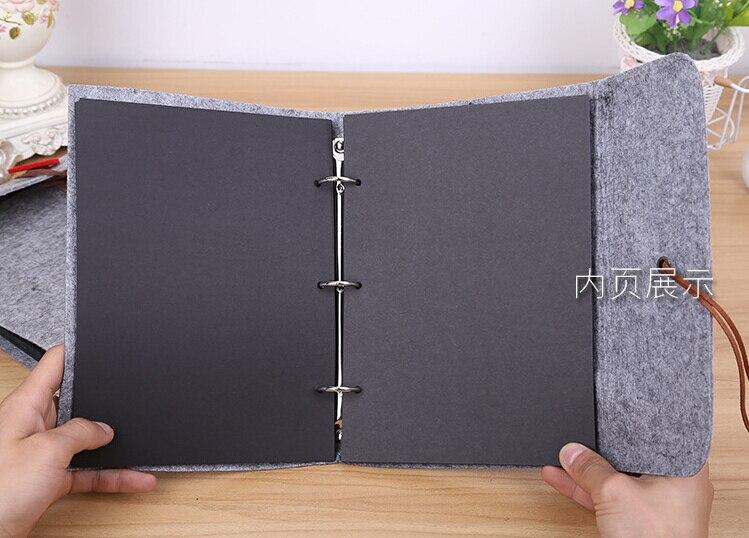 Favorito 2 formato del velluto di copertina in feltro fatto a mano fai da  GX23