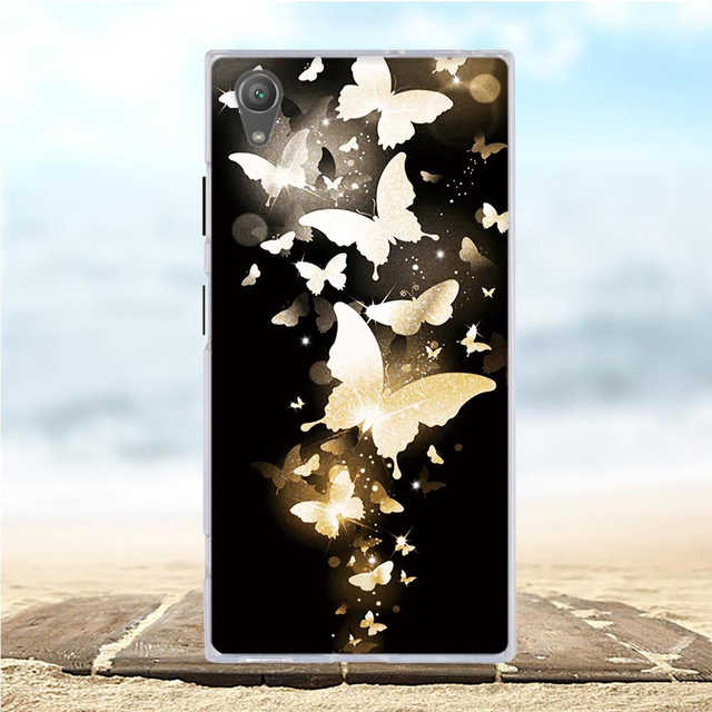 reputable site 16c6e 991aa For Sony Xperia XA1 Plus Case Cartoon Silicone Soft Back Cover For Sony  Xperia XA1 Plus Case Cover For Sony XA1 Plus G3412 G3416