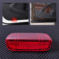 Panel de La Puerta de alta calidad de plástico Rojo Lente Luz Reflector Ajuste para VW Passat B6 B7 CC Golf Jetta MK5 MK6 1KD 947 419 1K0947419A