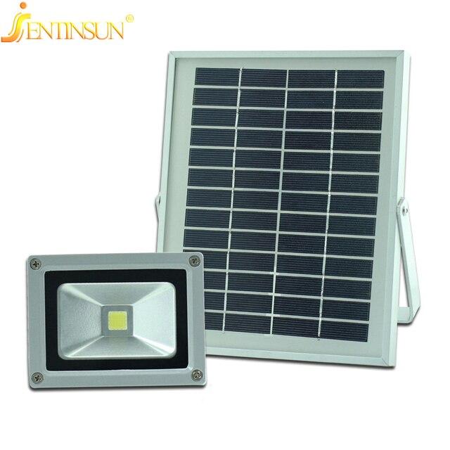 10W Solar Light Power LED Flood Outdoor Sun Panel Spotlight IP65 ...