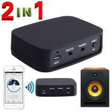 2018 New 2 in 1 Wireless Adapter CSR Apt-X Bluetooth 4.0 Music Audio Transmitter Receiver Adapter Mini Bluetooth Dongle 12006023 все цены