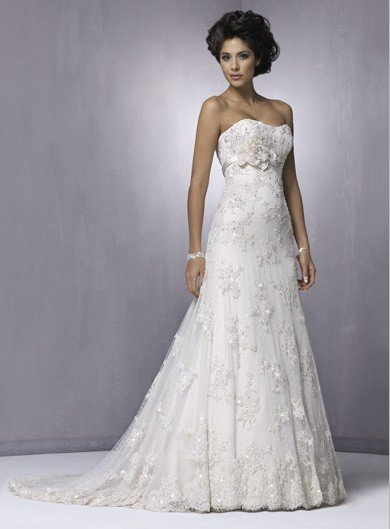 lace wedding dresses Gowns 2012 new style free shipping