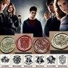Harry Potter Wax Seal Stamp Hogwarts Crest Gryffindor Slytherin Malfoy House LOGO One Piece Sealing Wax