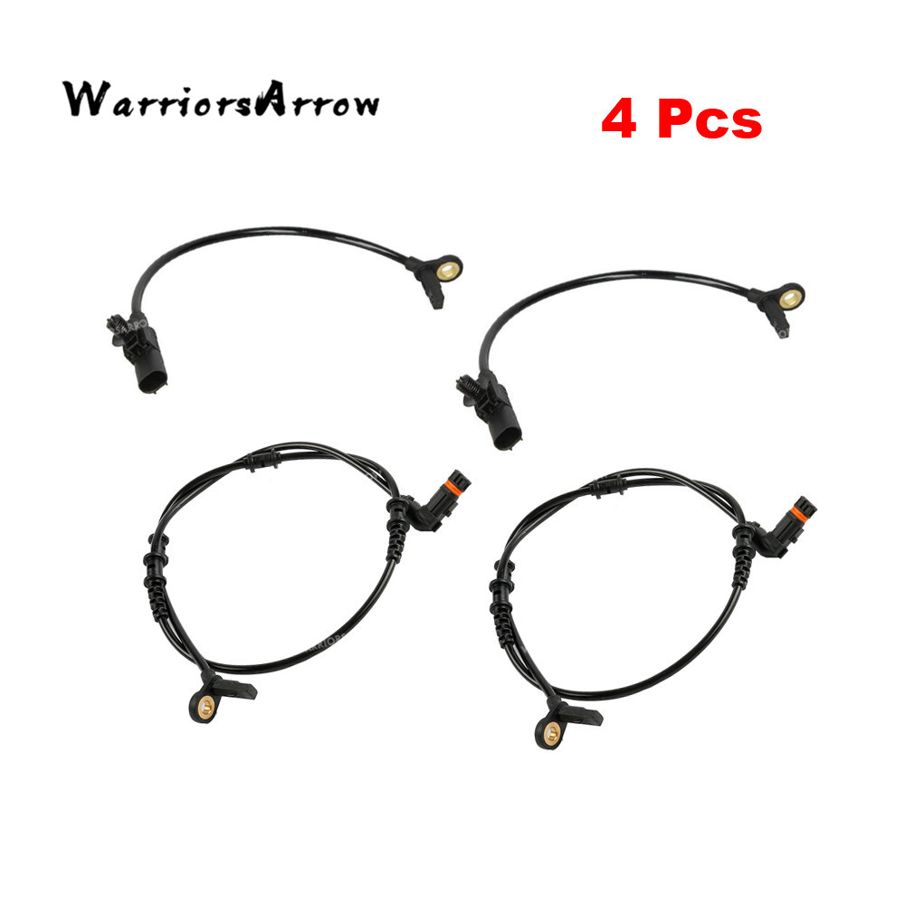 4Pcs ABS Wheel Speed Sensor For Mercedes Benz W164 GL320
