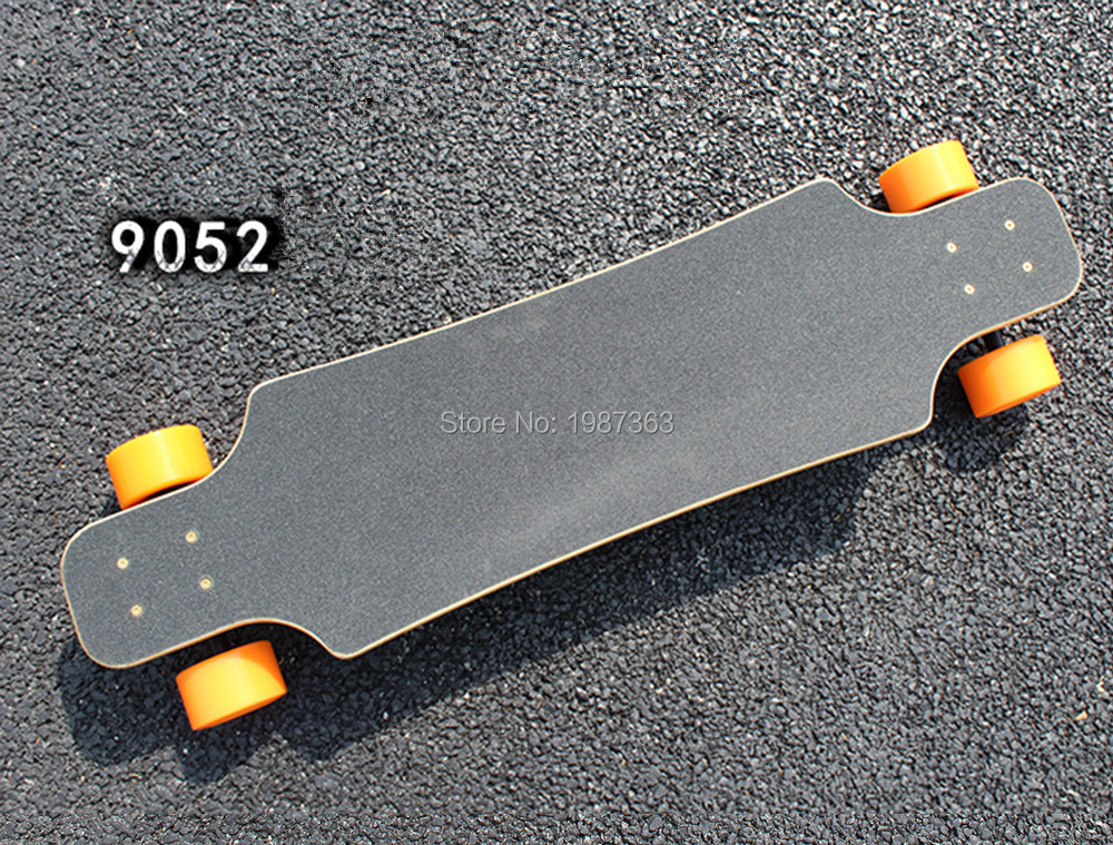 4f960a8b3974 38 inch Professional Skate Board Fiber Glass+Bambo layer Deck Longboard  Skateboard Cruiser Four Wheels
