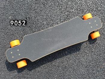 38 inch Professional Skate Board Fiber Glass+Bambo layer Deck Longboard Skateboard Cruiser Four Wheels Street Dancing Longboard