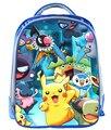 13 Pulgadas Mochila Mochila Para Niños Bolsas Escuela Niños Mochilas Diarias de Pokemon Pikachu Niños Mochila Mochilas