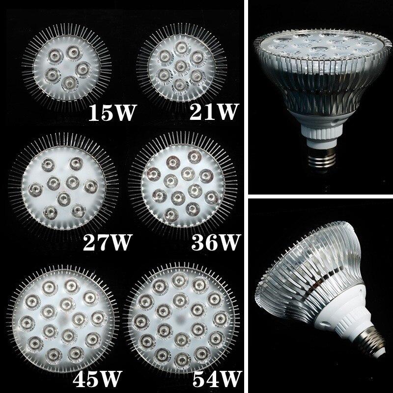 E27 LED Grow Light Bulb Full spectrum 15W 21W 27W 36W 45W 54W Led Plant Lamp