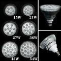 E27 LED Grow Light Bulb Full spectrum 15W 21W 27W 36W 45W 54W Led Plant Lamp for Greenhouse Garden Flower Plant Hydroponics