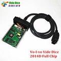 Последним 2014D Для Vo-l-во Vida Dice OBD2 Диагностический Инструмент Для Vo-l-во Vida Dice Pro Мощный Интерфейс Авто Сканер Полный Чип PCB