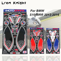 For BMW S1000RR S1000 RR 2009 2016 Motorcycle Accessories New Style Sticker Gas Fuel Oil Tank Pad Protector Cover Decals Case