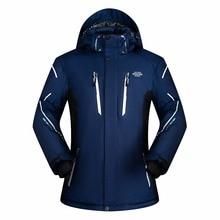 2017 New Men ski Jackets brands Outdoor Warm Snowboard Jacket coat male waterproof snow jacket Man sportswear winter clothes