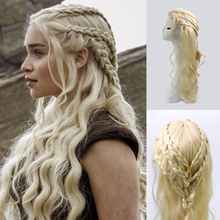 Game of Thrones Daenerys Targaryen Cosplay Wig Synthetic Hai