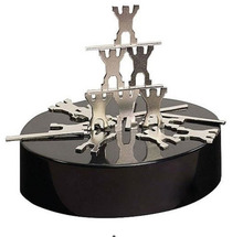 Magnetic  Sculptures Human teamwork/ magentic desk art sculpture/DIY Perpetual Motion Toy/ For  Science fun/ Free shipping