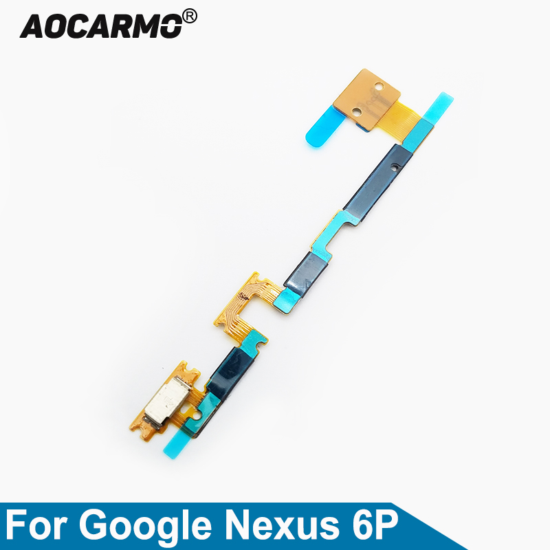 Aocarmo Power On/Off Volume Button Camera Side Keys Flex Cable For Huawei For Google Nexus 6P H1511 H1512