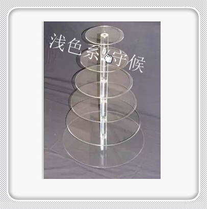 Free Shipping Cheapest ! Round Clear 6 Tier Acrylic Wedding Cake Stand Cupcake Display Stand Dessert Display Holder For MaypoleFree Shipping Cheapest ! Round Clear 6 Tier Acrylic Wedding Cake Stand Cupcake Display Stand Dessert Display Holder For Maypole