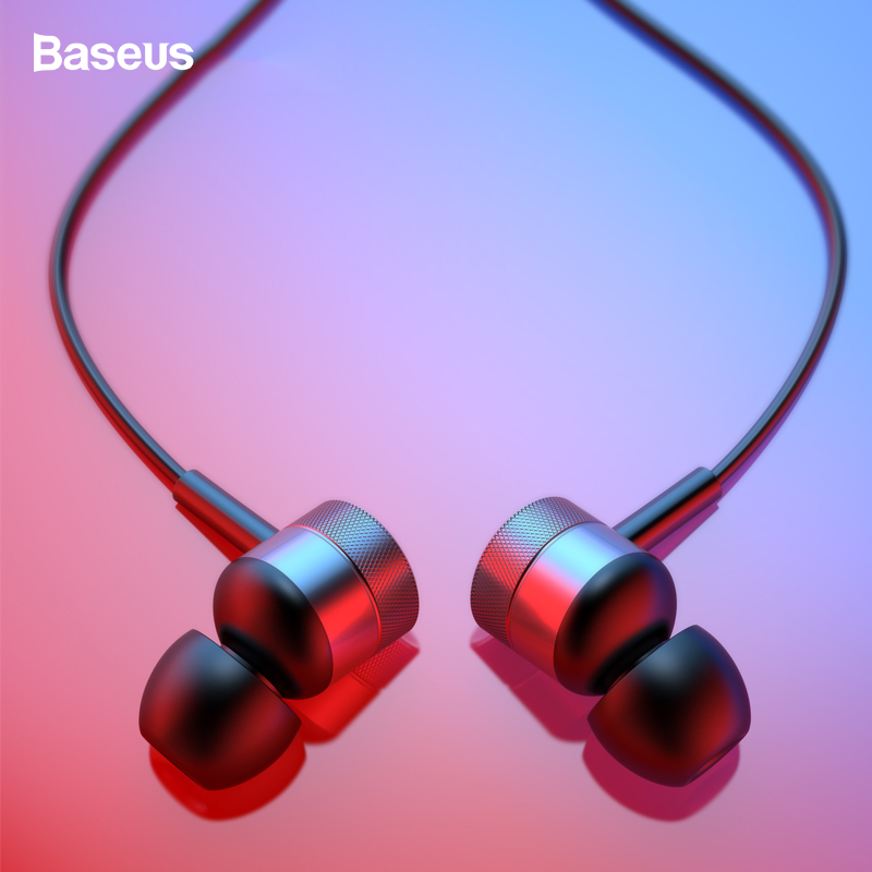 Baseus H04 Earphone Stereo Sound Headset In-Ear Wired Earphone With Mic For IPhone Xiaomi Samsung Fone De Ouvido Auriculares MP3