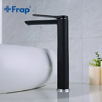 цена на FRAP New Bathroom Basin Faucet High Quality Cold and Hot Bathroom Sink Faucet Basin Faucet Mixer Single Handle Water Tap Y10125