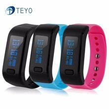 Teyo Smartband UP Bluetooth Монитор Сердечного ритма Шагомер Будильник Уведомление Сообщение Удаленной Камеры Браслет Android IOS