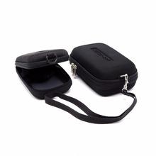 Cyfrowy torba na aparat do Sony RX100 RX100 V IV III II RX100III RX100II W90 WX9 WX30 WX10 DSC-T700 T90 T77 kamery etui na karty tanie tanio NYLON Punkt i Strzelać Kamery Baterii Uniwersalny Torebki Digital Camera Bag Torby aparatu YKMZGO Card Case Black Internal Size(L x W x H) 11 x 6 5 x 4 5cm