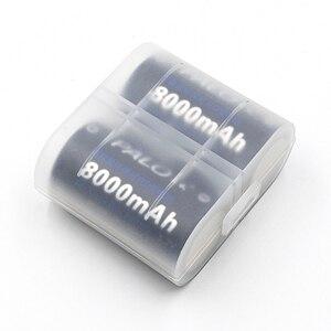 Image 3 - 6 قطعة * PALO 1.2 فولت ni mh 8000 مللي أمبير D حجم بطاريات ل سيارات لعبة مصباح يدوي بطاريات bateria D نوع ni mh بطارية عالية capactiy