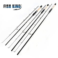 Fish King Lure Weight 5-25g Cheap Saltwater Fishing Spinning Rod 2.4m 2.7m 2 Section Ultra Light Carbon Fiber Body Fishing Rod