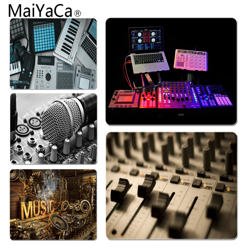 MaiYaCa 2018 New Music Production Unique Desktop Pad Game Mousepad Size for 18x22cm 25x29cm Small Mousepad