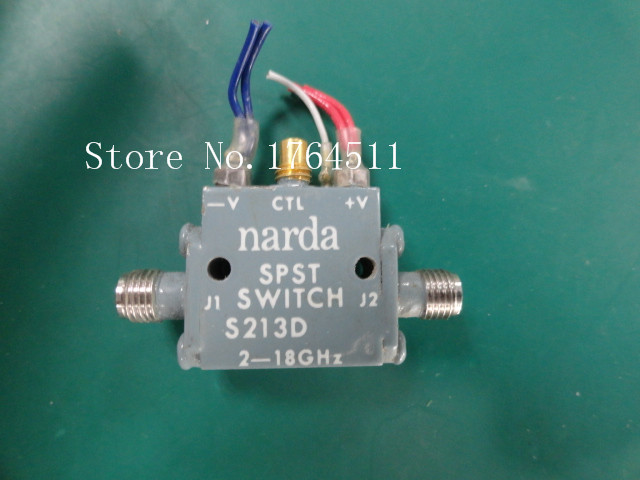 [LAN] Narda S213D 2-18 GHZ SPDT RF mikrodalga semiconductor 12 V SMA[LAN] Narda S213D 2-18 GHZ SPDT RF mikrodalga semiconductor 12 V SMA
