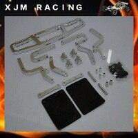 1/5 RC гоночный автомобиль, сплав заднее крыло/бампер для Baja T1000GT
