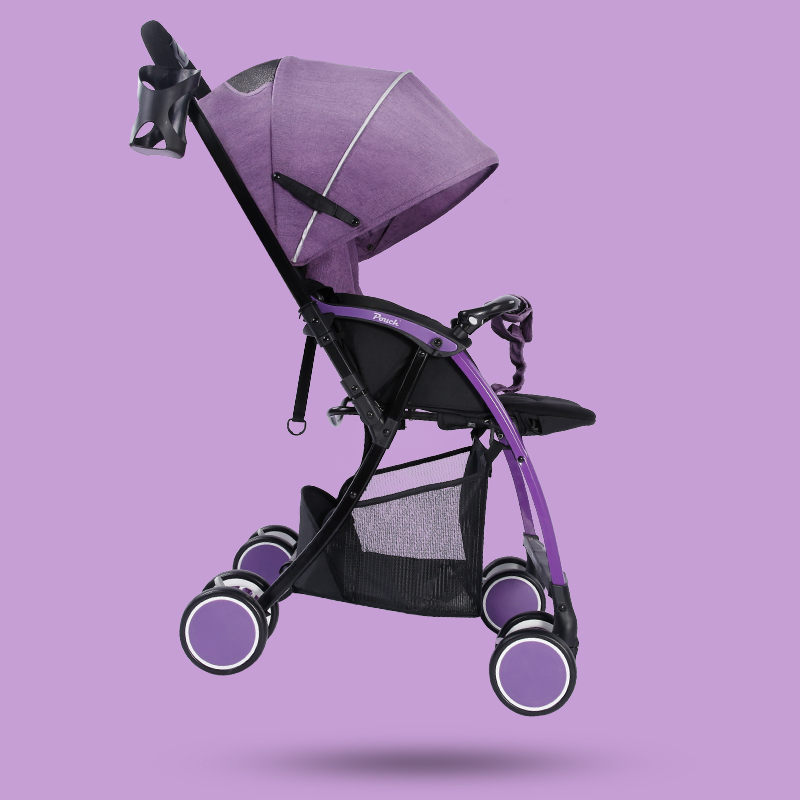 Pouch Fashion Bidirectional Baby Stroller/Pram, Portable Pushchair. 5.8kg Light Baby Carriage, Fast Folding, Can sit & Lie Down hot sale factory direct sale babyyoya stroller portable newborn pram light weight pushchair travel foldable pram