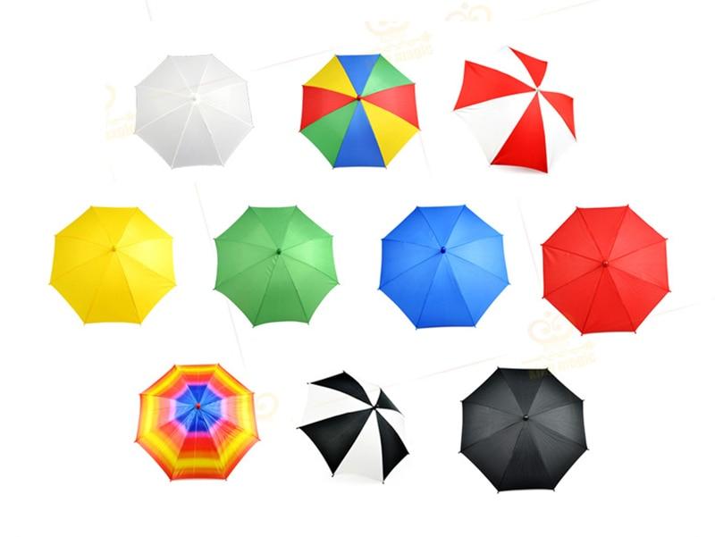 10 Pcs/set Medium Size(40.5cm Length) Magic Umbrella  Magic Tricks,props Device Silk To Umbrellas Stage Magic Accessory 83033