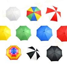 10 шт./партия, средний размер(длина 40,5 см), магический зонтик, волшебные фокусы, реквизит, устройство, шелк для зонтов, магический аксессуар для сцены, 83033